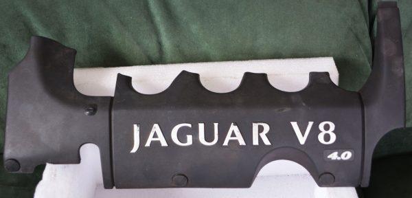 Jaguar XKR engine trim left hand side